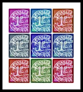 Lion of Flanders (Multi-Colour Mosaic)