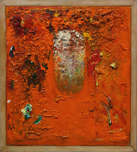 Untitled (orange painting)