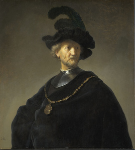 Old Man with a Gold Chain