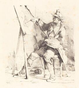 The Sign Painter (Le Peintre d'Enseignes)