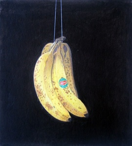 Untitled (Suspended Bananas)