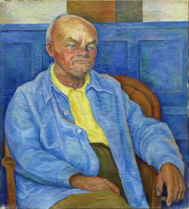 Portrait of Dr. Otto Ruhle (Retrato del Dr. Otto Ruhle)