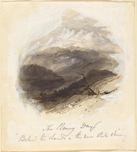 "Illustration for Longfellow's ""Rainy Day"""