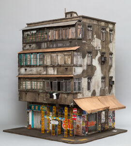 Temple Street (based on 23 Temple Street in Kowloon, Hong Kong)
