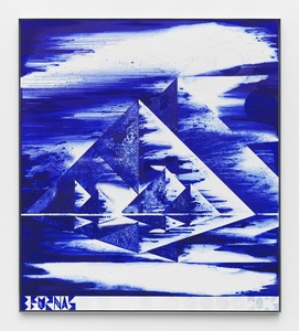 First Morning (Ultramarine Pyramids)