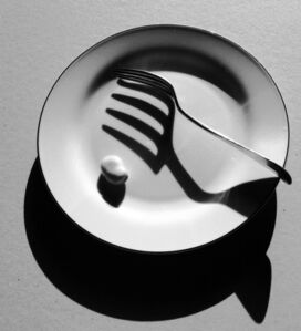 Fork and Plate (Still Life)