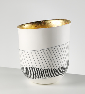 TALL BOWL (24kt Gold Interior)