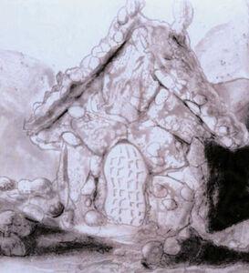 Peanut brittle house