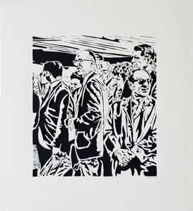 Crowd II, 1971