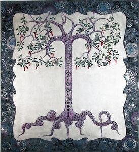 Purple lace tree