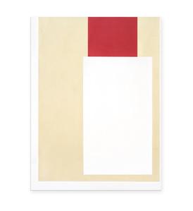 2 Blocks Red White