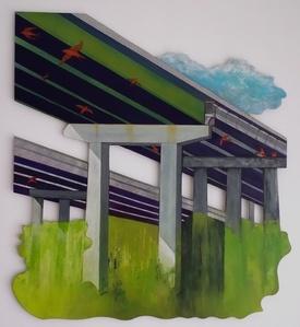 Under The Overpass (I-95 Savannah River Bridge)