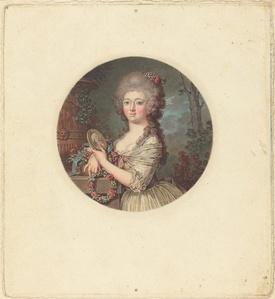 Portrait d'une jeune princesse