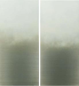 White Fog diptych
