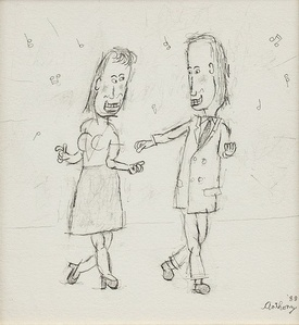 Dance With Me, Caricature Drawing