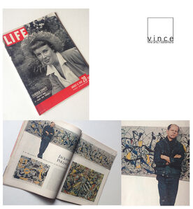 """""""Jackson Pollock: is he the Greatest Living Painter in the United States ?"""", 1949, LIFE Magazine,"""