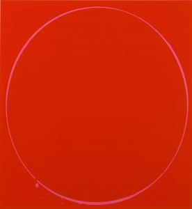 Ovals: dark red, magenta, dark red