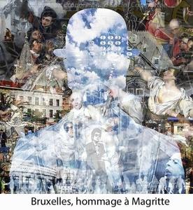 HOMMAGE A MAGRITTE - BRUXELLES/Ed. sur 10