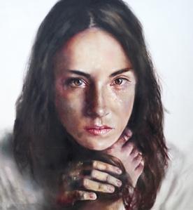 Alabaster woman
