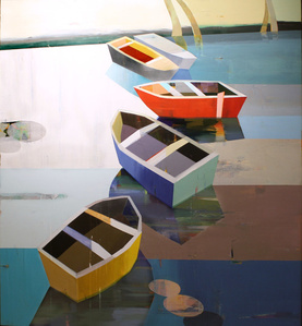 Colorful Boats In The Bay #5