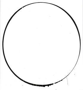Ovals: white, black, white