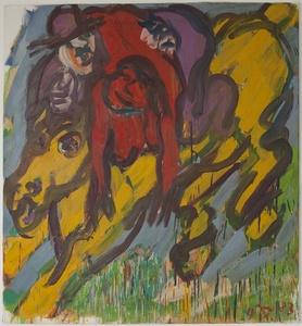 Untitled (Entführung von Frau mit Pferd)
