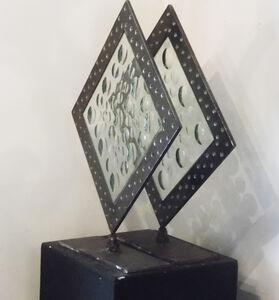 Pair Industrial Magiscope Sculptures