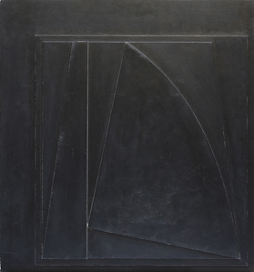 Relief Noir Frange Blanche