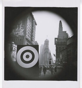 Bull's Eye in Times Square