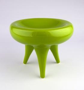 """""""Green Tripod Bowl"""""""