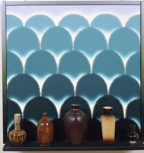 Virtual Still Life #8: Vases with a view