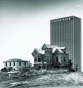 The Castle, 325 S. Bunker Hill Avenue, Los Angeles, California, (Demolished 1969)