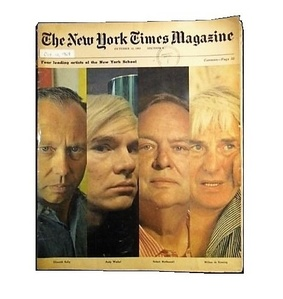 """Leading New York Artists 1969"", The New York Times Magazine, DeKOONING kelley MOTHERWELL warhol"