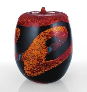 """Unique """"Colata di Lava n. 23"""" Vase"""