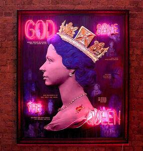 Blue Punk Queen