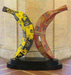 Banana Sculpture no.17