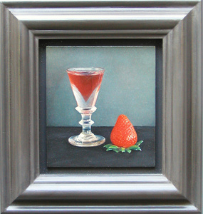Strawberry and Glass