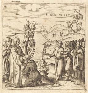 Christ Healing a Deaf Man