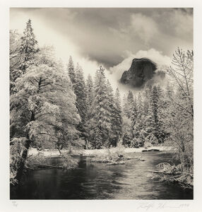 Half Dome, Merced River, Yosemite, CA