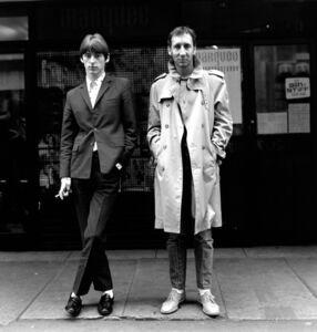 Paul Weller & Pete Townshend, Soho, London