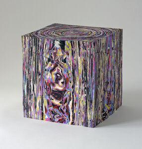 Rough Cut Block with Purple