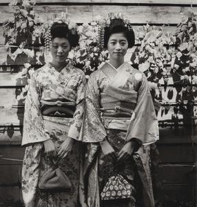 """Obanazawa, Yamagata Prefcture, from the series """"Fûshi Kaden"""""""