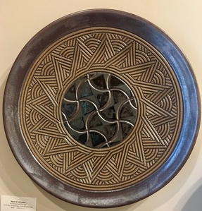 Black and Tan Platter