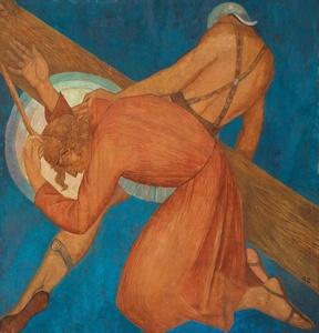 La caída del Señor en el camino de la Cruz