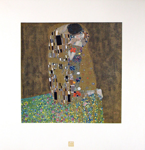 The Kiss [Das Werk Gustav Klimts]