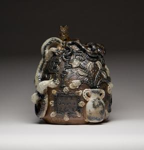Vase With Lizard