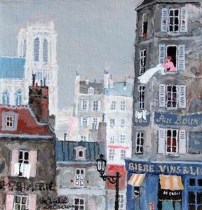 Le matin de Paris