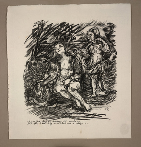 The Dream, plate 20 from Visions of Shakespeare (Shakespeare Visionen)