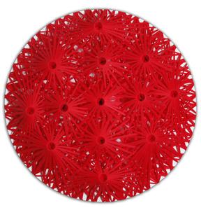 Linear Fractal Red