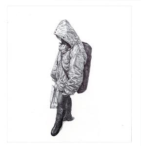 MTA Rider (Big Coat Girl)